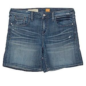 ANTHROPOLOGIE PILCRO ATLP Med Wash Denim Shorts 29